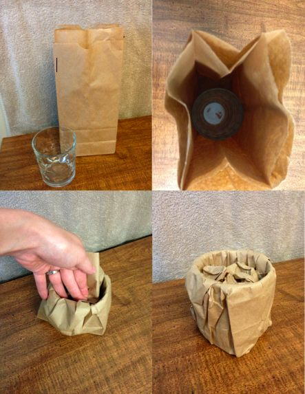 Naudokite popierinius maisiukus